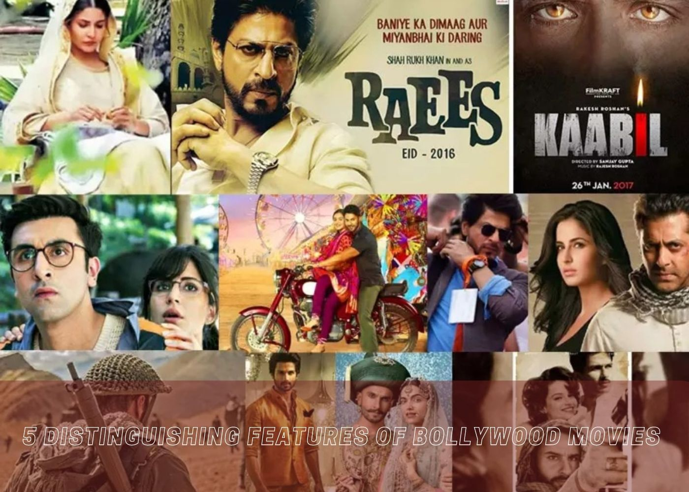 5 Distinguishing Features of Bollywood Movies